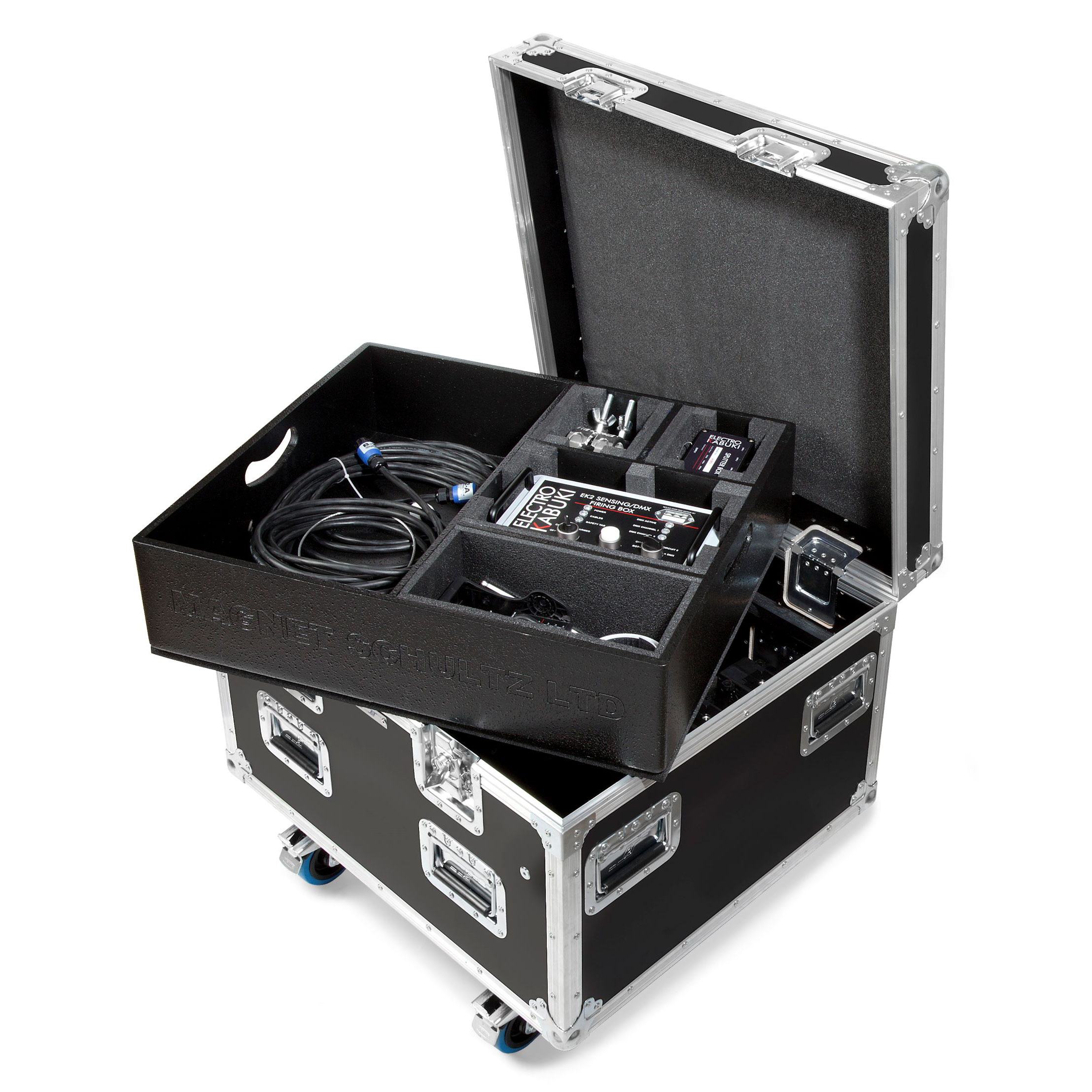 Flight case top