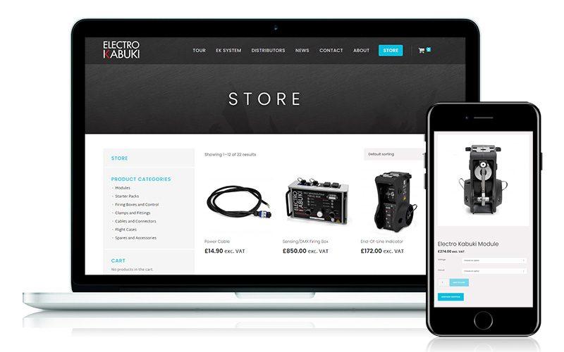 Electro Kabuki online store